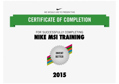 Nike MSI Training