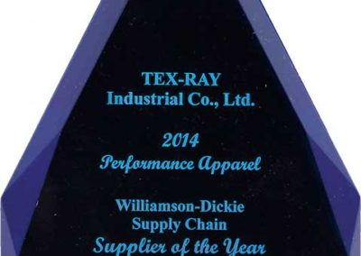 DICKIES Supplier of the Year